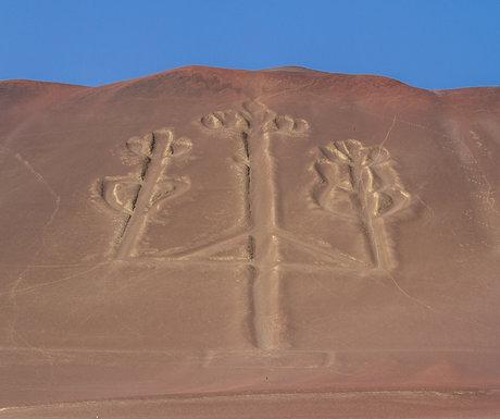 Ballestas Island Carving
