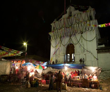 Chichicastenango Saint Tomas Church