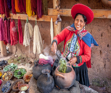 Chinchero Market Woman